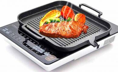 mejores parrillas y grills para inducción