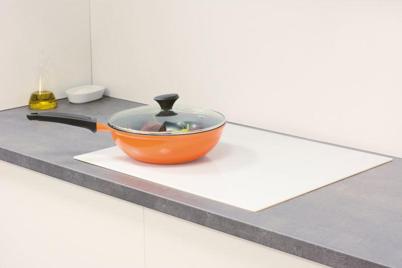 Cocinas de inducción color blanco