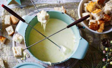 Como hacer una fondue de queso
