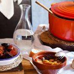 Fabada asturiana en olla cocotte