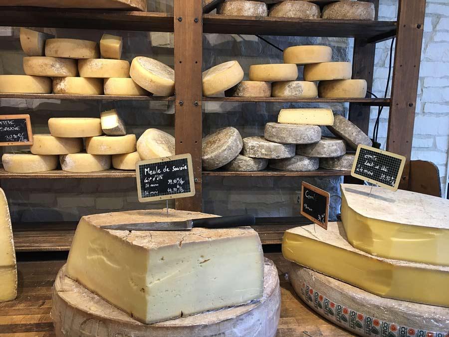 Aprende a cortar quesos