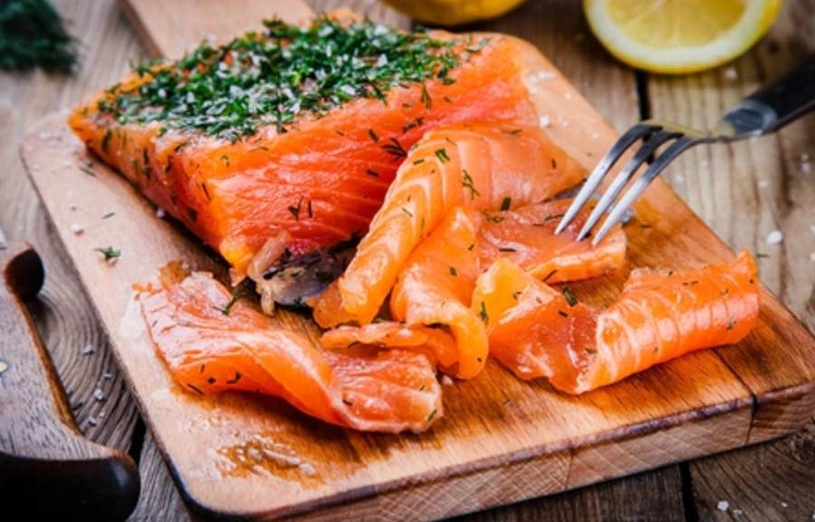 Receta salmon marinado fácil