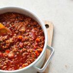 Salsa boloñesa: la receta original