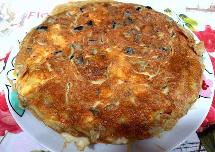 Receta Tortilla de hortalizas